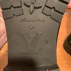 Louis Vuitton Shoes - Women's Louis Vuttion Logo boots